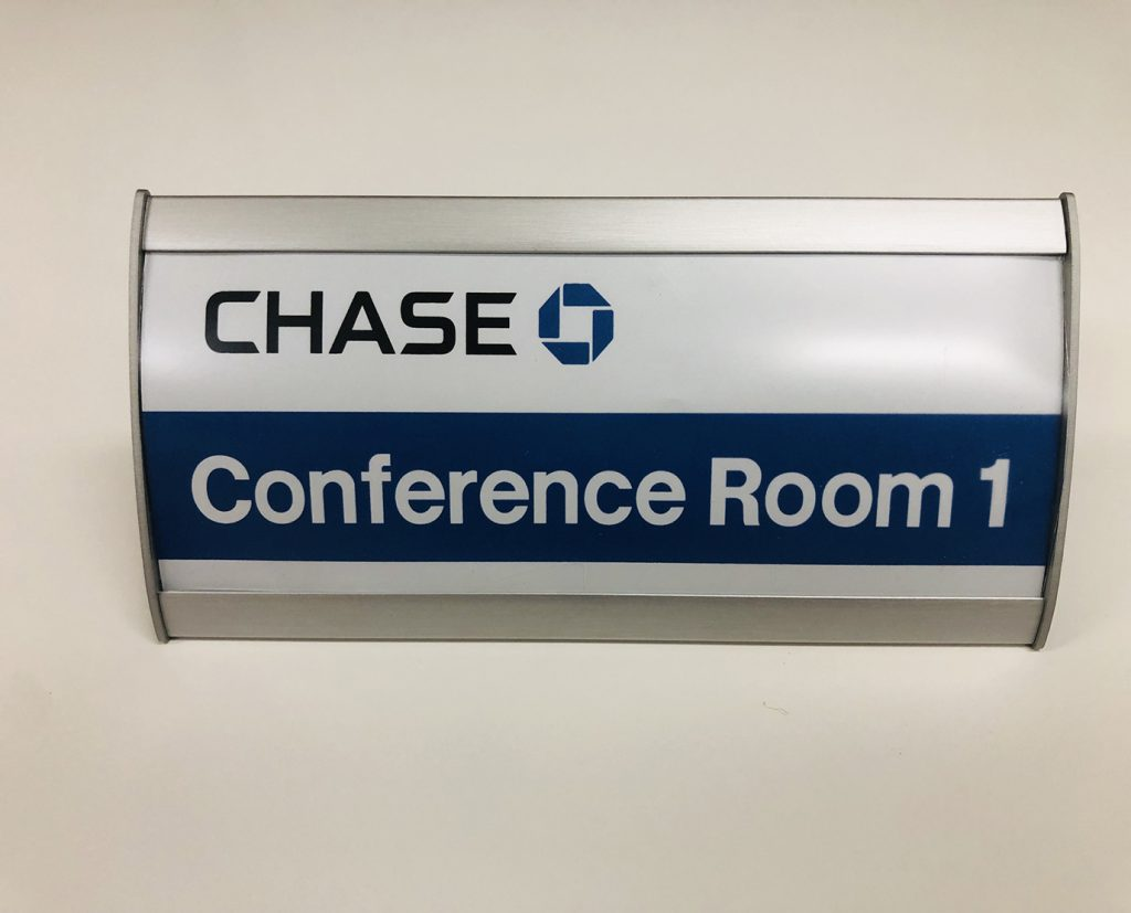 conference room nameplate