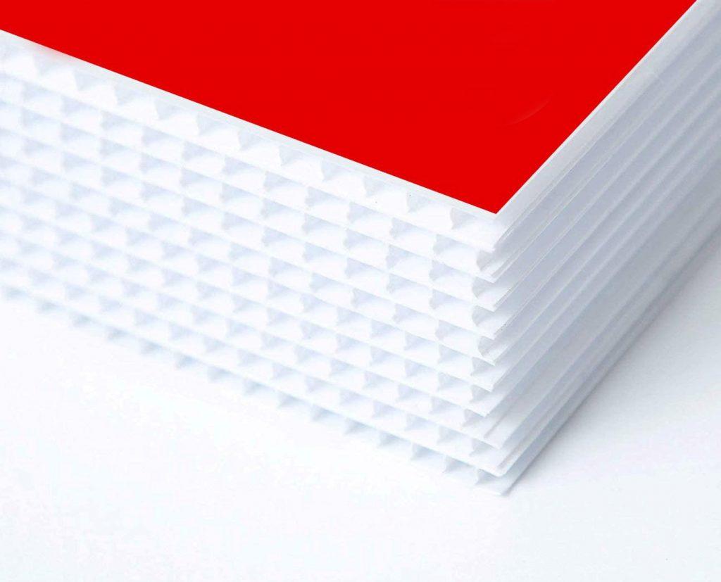 coroplast sheet boards