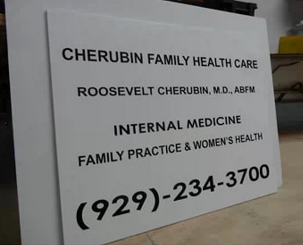 custom acrylic sign brooklyn