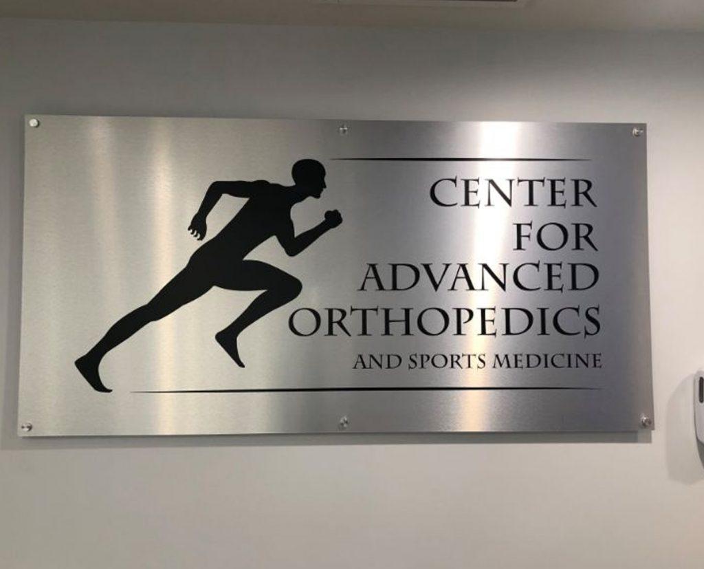 custom printed metal sign