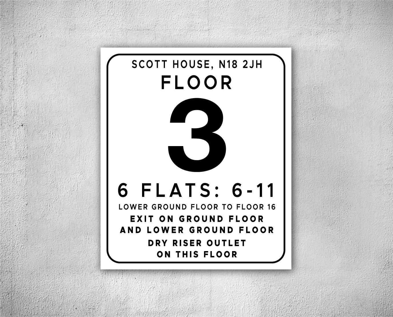 flats number sign