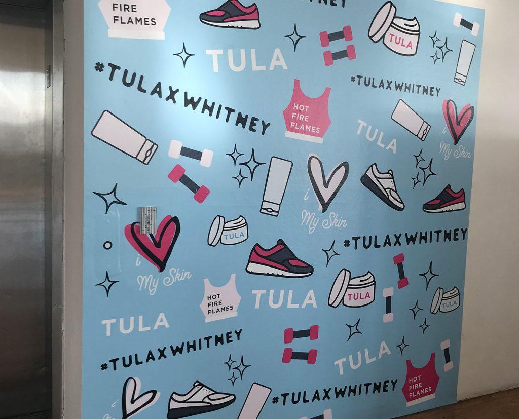 girls room wall wraps