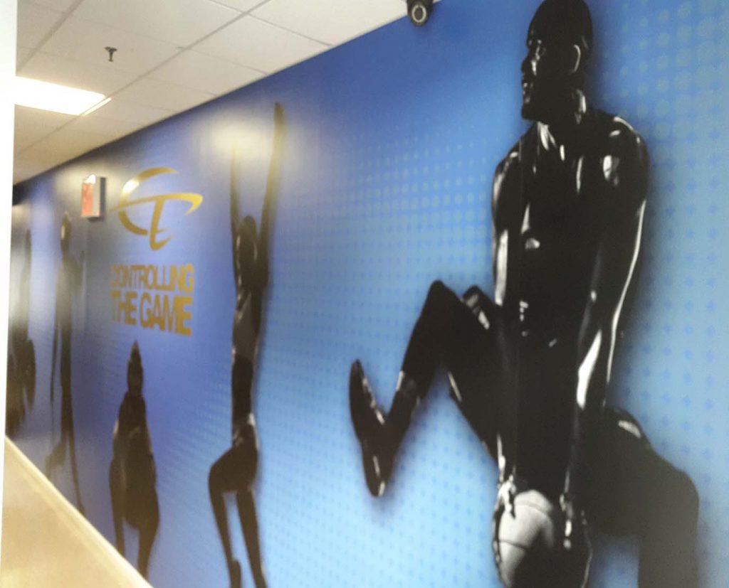 graphics printed wall wraps