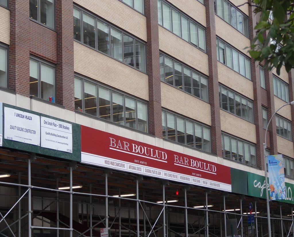 large scaffolding building wraps