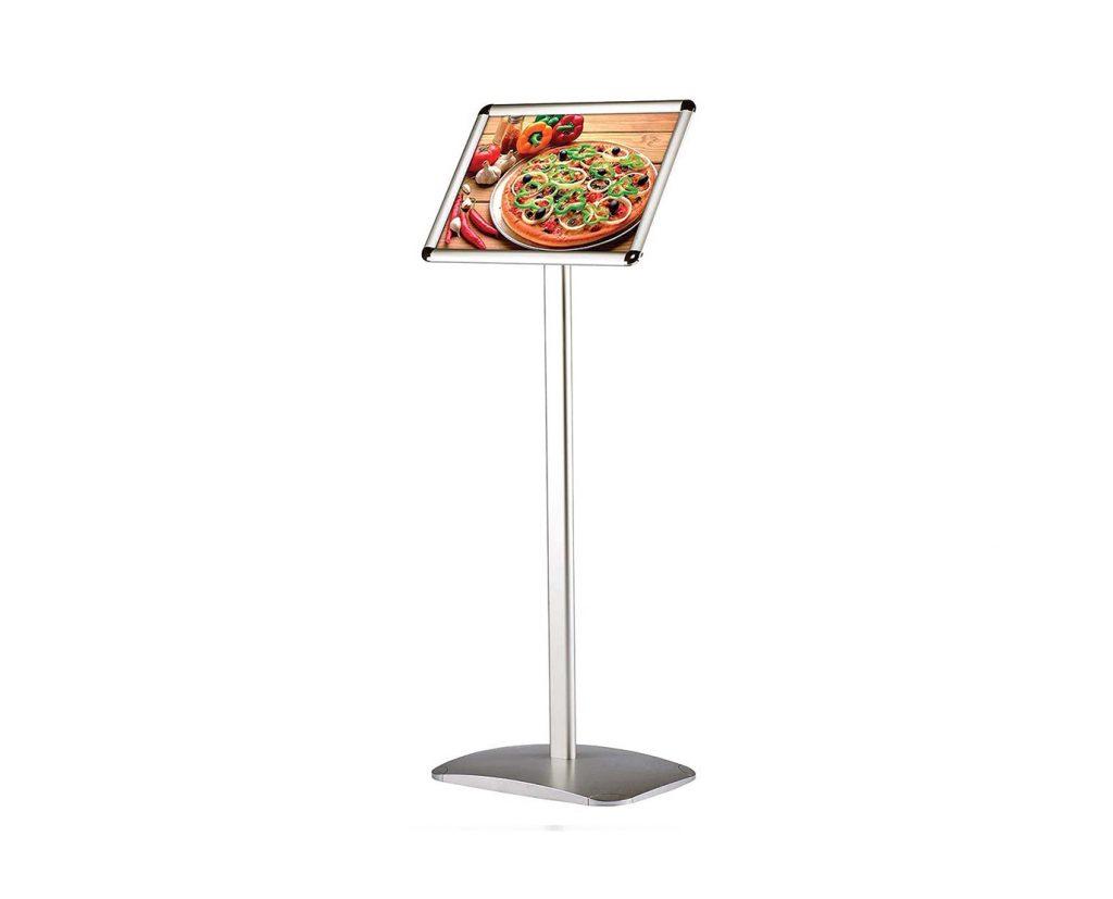 menu display floor stands