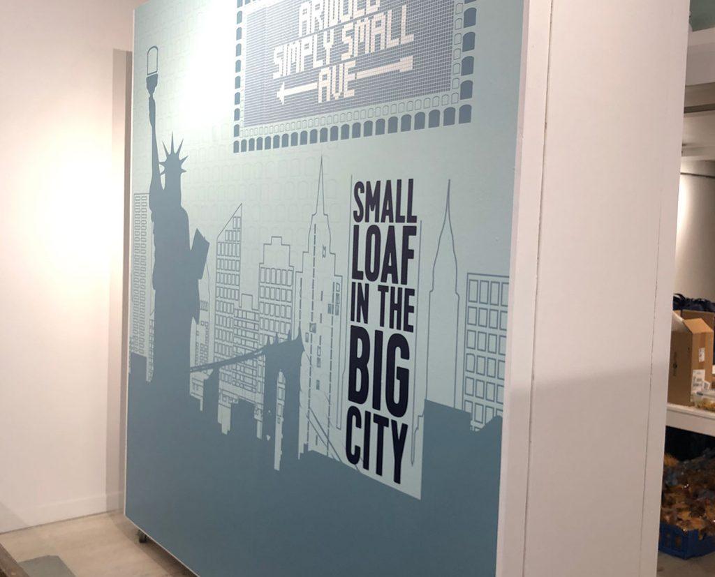 office vinyl wall wraps
