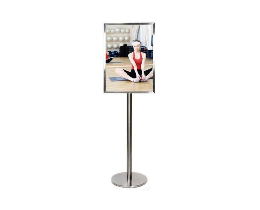 poster holder floor stand