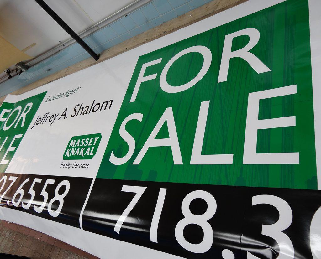 real estate vinyl banner printing
