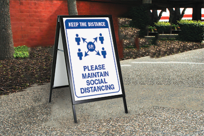 Social Distance Stand