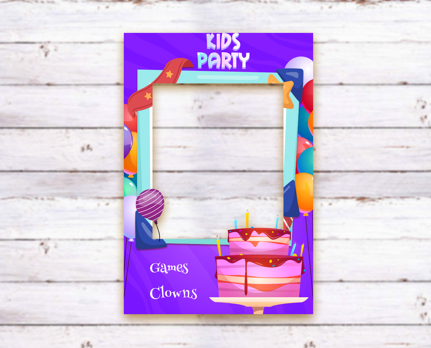 party photo frame