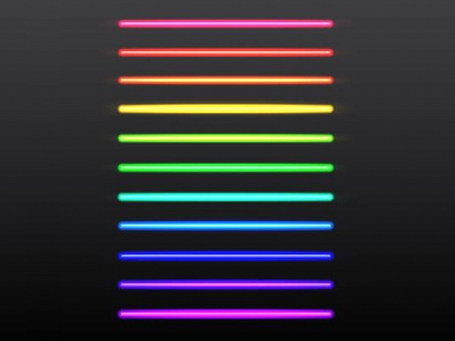 Neon Color Chart