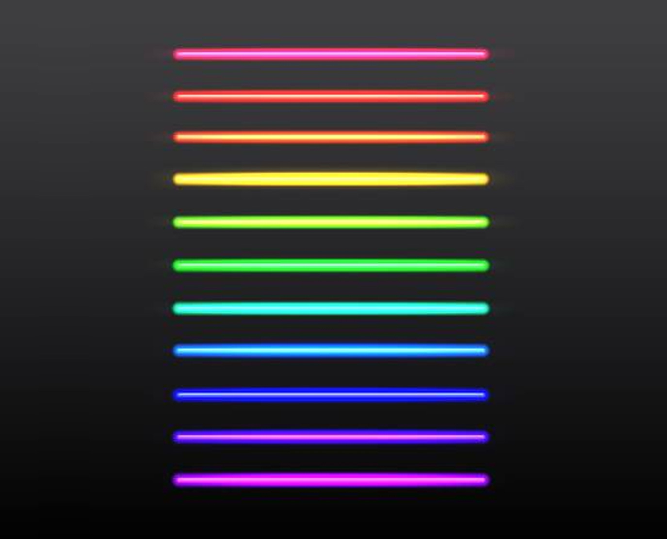Neon-color-chart
