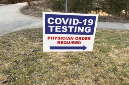 COVID Yard Signs