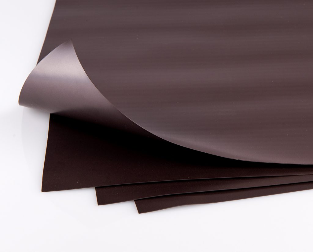 magnetic sheet sign material