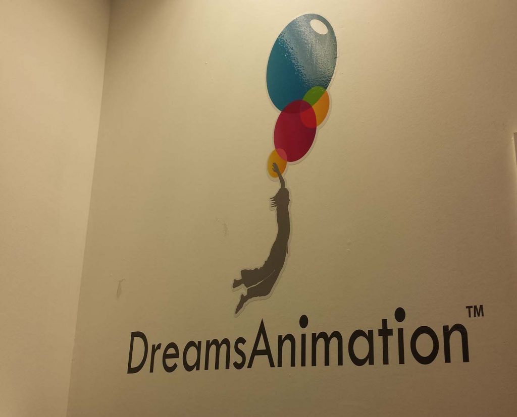 logo printed wall decals