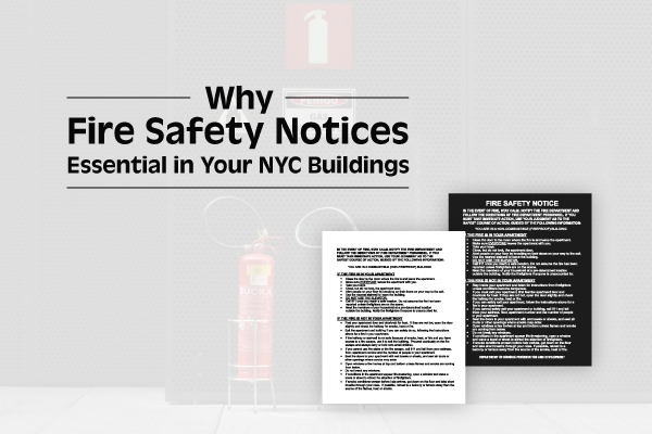 Why Having Fire Safety Notices Posted in Your Building is Essential