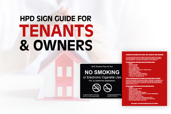 Why HPD Signs Are Vital to Your Mission as a Property Owner or Manager