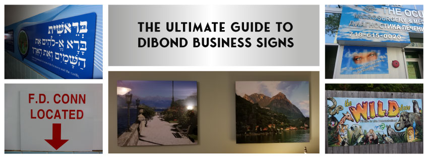 dibond signs ultimate guide